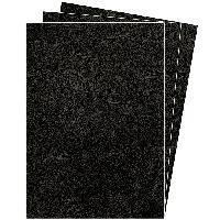 Обкладинка картонна А3 DELTA 250мкм, під шкіру, чорна