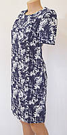 Летнее платье приталенное (лен)