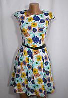 Молодежное повседневное летнее платье