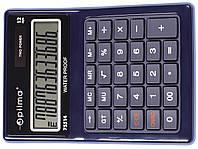 Калькулятор настільний Optima, 12 розрядів, водонепроникний, розмір 171*120*36 мм
