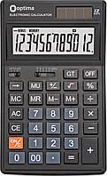 Калькулятор настільний Optima, 12 розрядів, розмір 174*108*27 мм