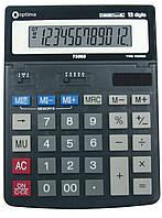 Калькулятор настільний Optima, 12 розрядів, розмір 200*150*27 мм