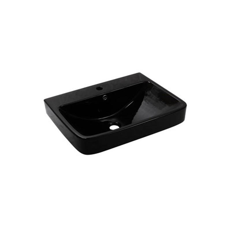 Умывальник NEWARC Countertop 60 (5014B) черный, с/п, (46*60.5*20)