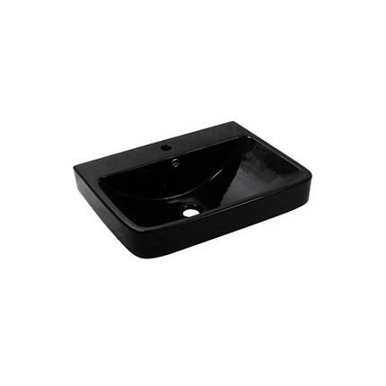 Умывальник NEWARC Countertop 60 (5014B) черный, с/п, (46*60.5*20), фото 2
