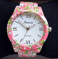 Часы Geneva (pink)