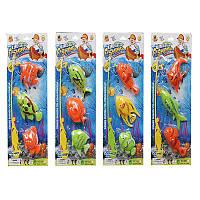 Рыбалка  886-1-2-3-4  4вида на планшете
