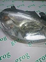 Фара передняя правая под электрический корректор Ланос grog Корея 96304611