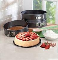 Набор разъемных форм для выпечки 3 ед. (24,26,28 см), фото 1