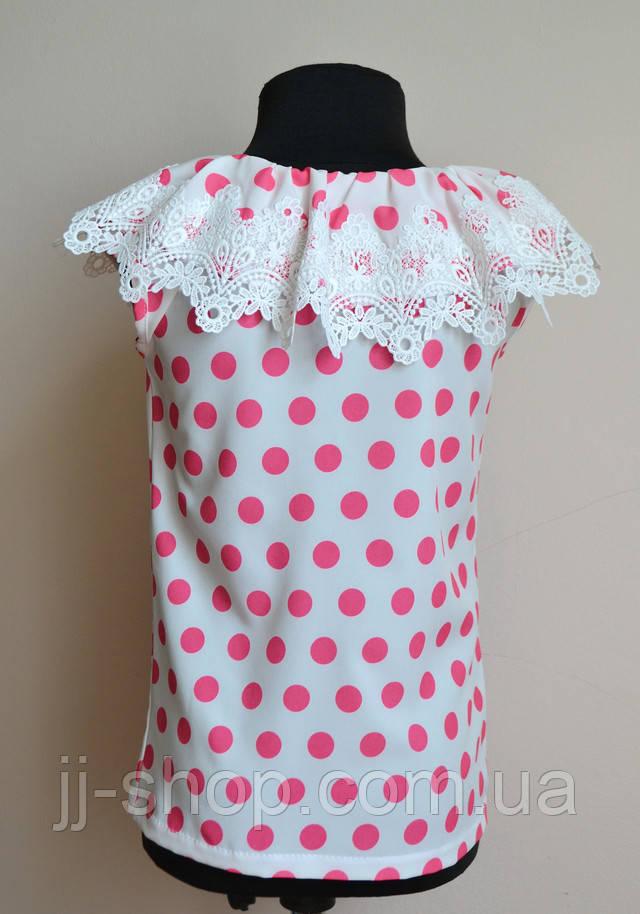 Блуза детская футболка нарядная