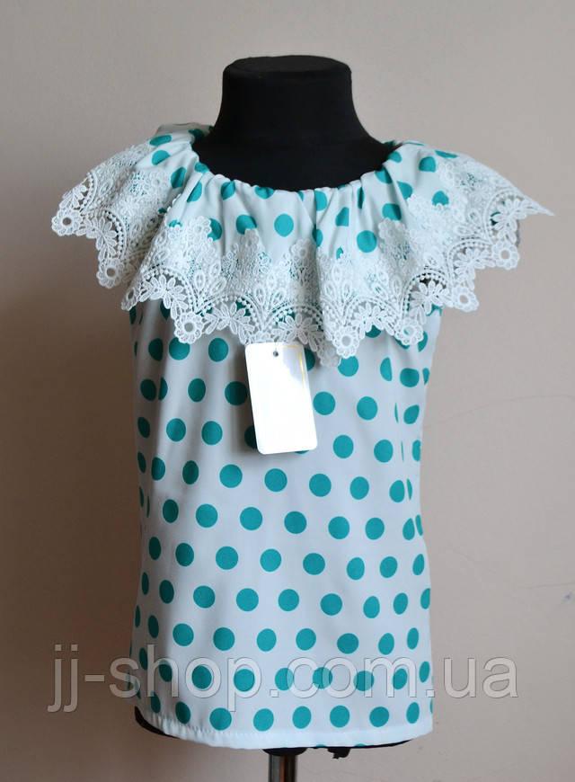 Блузка для девочки нарядная