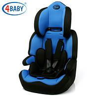 Детское Автокресло (1/2/3)(9-36 кг) 4baby - Rico Comfort (7 цветов)Blue