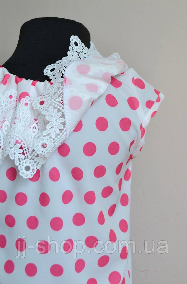 нарядная детская блузочка