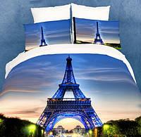 Комплект постельного белья евро Париж 5д