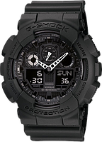 Мужские часы наручные Casio G-SHOCK GA-100-1A1 черные