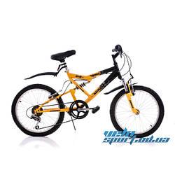"""Детский велосипед Azimut Scorpion-20"""" (оборудование SHIMANO)"""