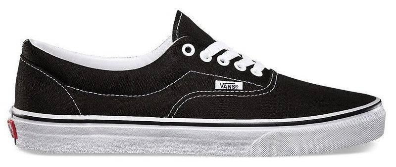 Кеды Vans ERA Black/White, (унисекс), вансы, венсы, фото 2