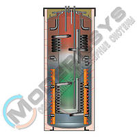 Meibes SKSE-0 401/200 Бак ГВС внутри теплового аккумулятора