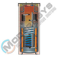Meibes SKSW-0 801 Змеевик ГВС внутри теплового аккумулятора