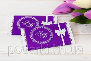 Шоколадний весільний подарунок гостям