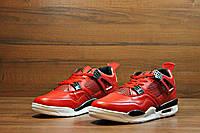 Кроссовки мужские Nike Air Jordan материал : PU кожа + текстиль ; р-ры 40-44; Вьетнам;