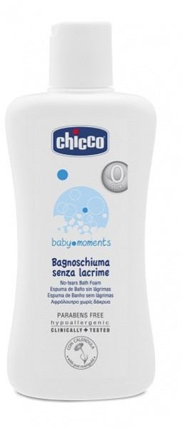 Піна для ванни Chicco Без сліз, 200 мл