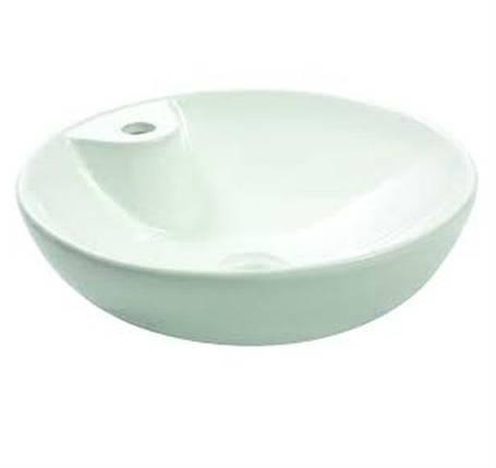 Умывальник NEWARC Countertop 45 (5010BT) белый, б/п, (45*45*14.5), фото 2