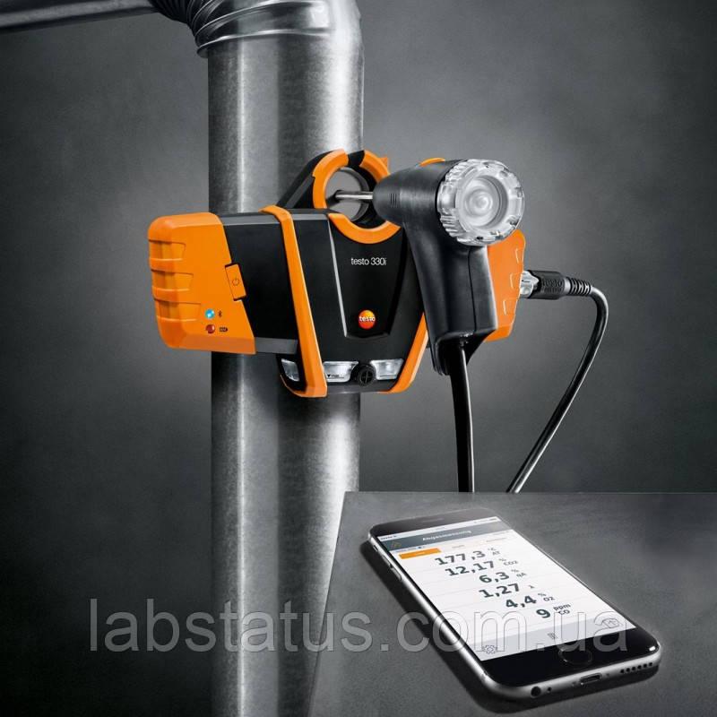 Газоаналізатор testo 330i з управлінням зі смартфону по Bluetooth