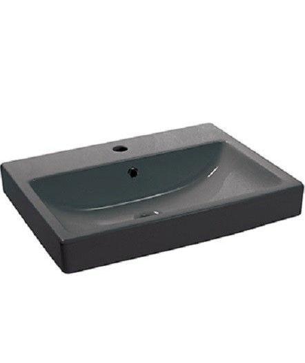 Умывальник NEWARC Countertop 60 (5022B) черный, с/п, (45*60)