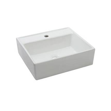 Умывальник NEWARC Countertop 47 (5025) белый, б/п, (47*43*14), фото 2