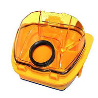 Контейнер в сборе для пыли для пылесоса Rowenta желтый, RS-RT900110