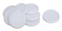 SS-989691, Крышка круглой баночки для йогуртницы Tefal, в наборе 8 шт