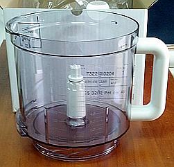 Чаша основная для кухонного комбайна Braun 2000 мл 7322010204 (67051144)