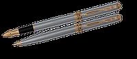Комплект ручок (П+К) в оксамитовому футлярі Н, хром