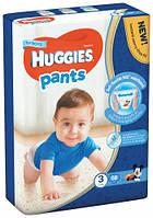 Подгузники-трусики Huggies Pants для мальчиков  3 (6-11 кг), 58 шт.