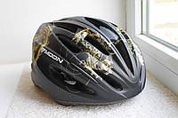 Велосипедный шлем Moon черный Матовый