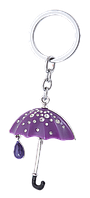 """Набір подарунковий """"Umbrella"""": ручка кулькова + брелок, фіолетовий"""