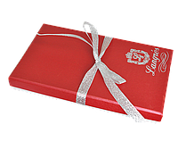 """Набір подарунковий """"Crystal"""": ручка кулькова + гачок д сумки, червоний"""