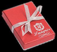 """Набір подарунковий """"Elegance"""": ручка кулькова + гачок д сумки, червоний"""