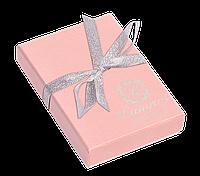 """Набір подарунковий """"Elegance"""": ручка кулькова + гачок д сумки, рожевий"""