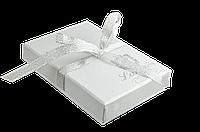 """Набір подарунковий """"Elegance"""": ручка кулькова + гачок д сумки, білий"""