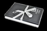 """Набір подарунковий """"Star"""": ручка кулькова + брелок + закладка для книг, чорний"""