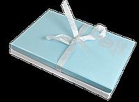 """Набір подарунковий """"Star"""": ручка кулькова + брелок + закладка для книг, синій"""