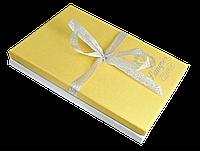 """Набір подарунковий """"Star"""": ручка кулькова + брелок + закладка для книг, жовтий"""