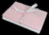 """Набір подарунковий """"Star"""": ручка кулькова + брелок + закладка для книг, рожевий"""