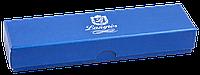 """Ручка кулькова """"Sapphire"""" з кристалами, синій, в подарунковому футлярі"""