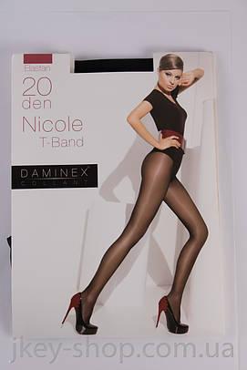 Колготки женские Daminex DAMINEX NICOLE T-BAND 20 DEN BLACK