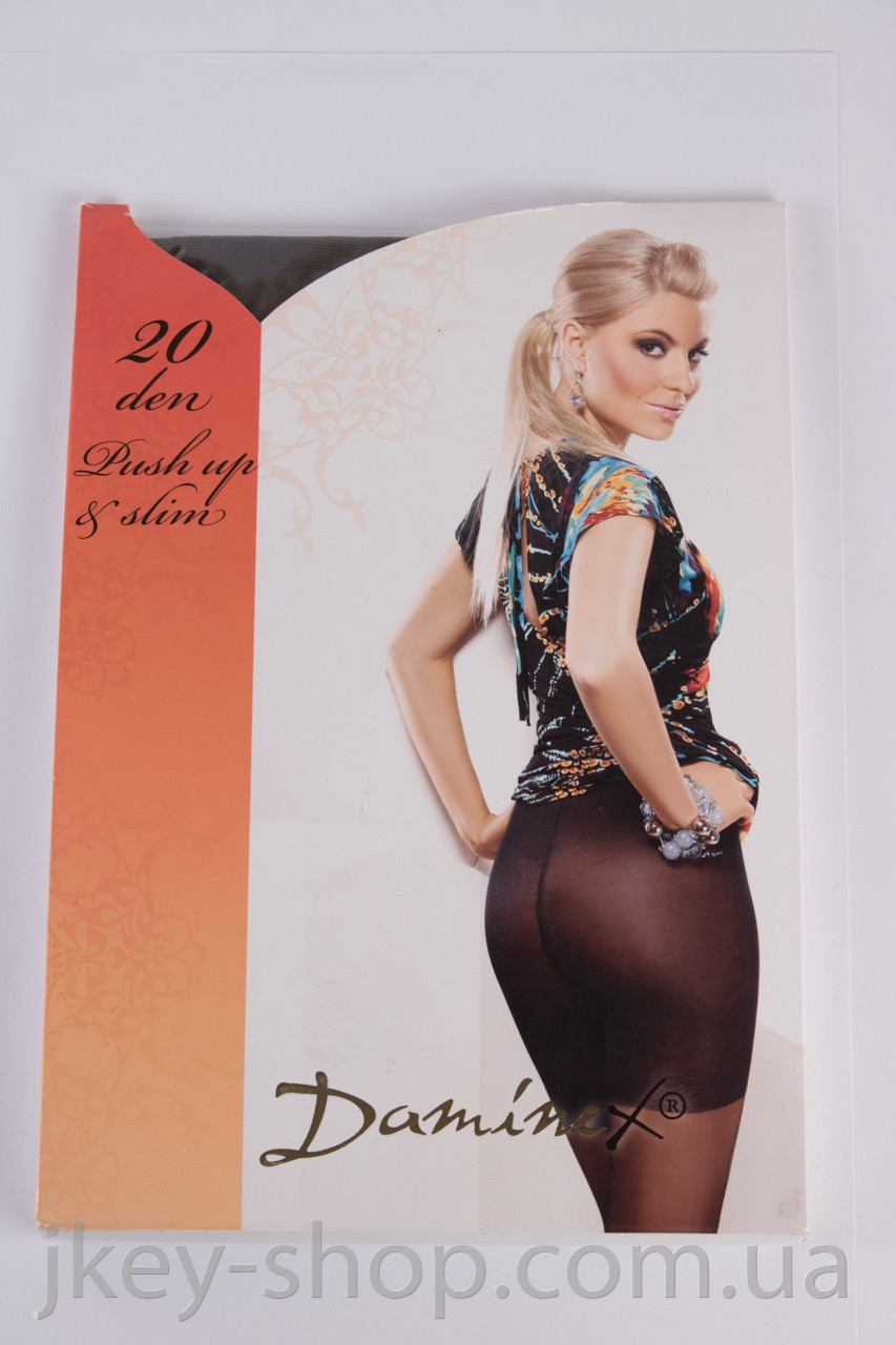 Колготки женские Daminex DAMINEX PUSH UP&SLIM 20 DEN FUMO