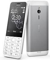 Мобільний телефон Nokia 230 DS Silver White