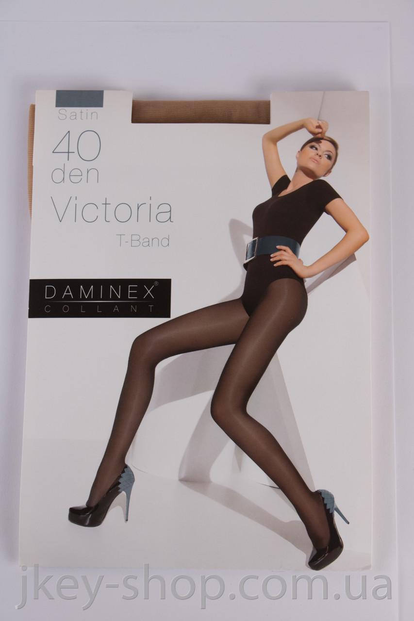 Колготки женские Daminex DAMINEX VICTORIA T-BAND 40 DEN BEIGE