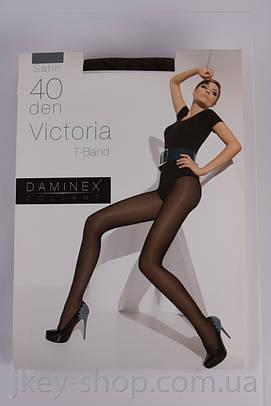 Колготки женские Daminex DAMINEX VICTORIA T-BAND 40 DEN OLIVE